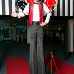 Aces High stilt performer
