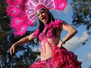 PInk Calypso - fiesta entertainment characters