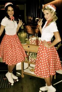 1950s Roller Girls
