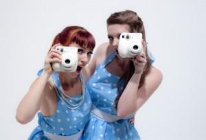 "Retro Polaroid Girls ""Happy Snaps"""