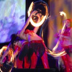Phoenix AFLAME choreographed fire twirling routines