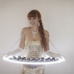 Illuminated Mix & Mingle food service act available in a range of stunning costume options to suit any theme