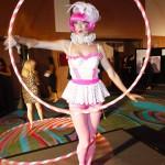 Vintage Hula Hoop Girls