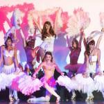 Cute fun burlesque style dance routine