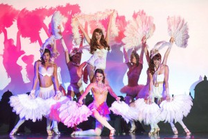 Cute fun burlesque style dance routine
