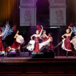 CanCan dancers in action