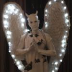 Dark Angel Human Statue