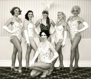 Vintage showgirls