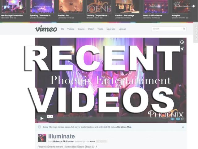 Recent Event Videos…