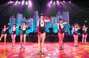 Puttin on the Ritz Cabaret dancers