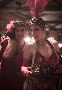 1920s dancers and characters