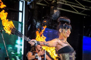Steampunk fire act