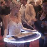 """""""Light Bites"""" food service on illuminate trays"""