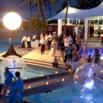 Dreamspheres on Hayman Island Pool