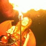 phoenix fire devils - halloween fire show