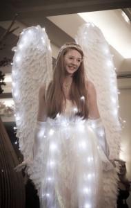 phoenix angel stilt walker