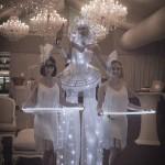 Gatsby themed Light Bites & Chandelier