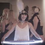 White Gatsby themed Light Bites